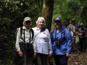 Audubon Group of Ladies in Amazon Jungle