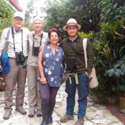 Birding in Enchanted Garden with Doña Leo
