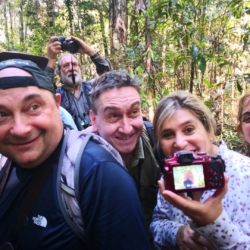 Birding in Mitu Amazon Colombia with Argentina Group