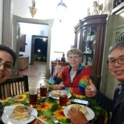 Happy Birdwatchers Clients in Colombia