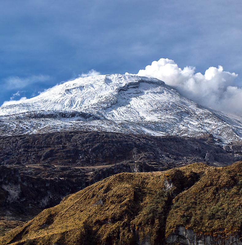 Nevado del Ruíz- Birding in Colombia