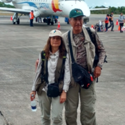 Ready to go to Amazon Jungle