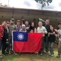 Taiwan Photographers Group in Andes
