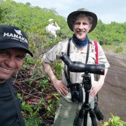 With Audubon Staff in Amazon Jungle