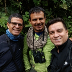 With our friend David Ascanio