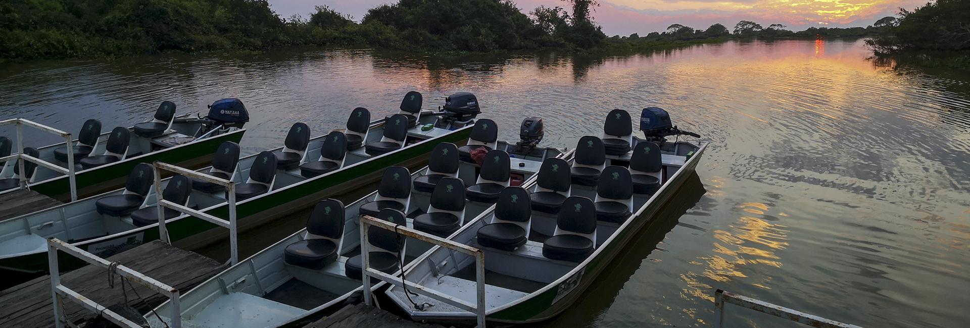 Jofre River in Pantanal