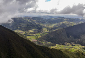 Colombian Andes Lanscape